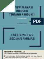 Review Farmasi Industri Industri- Ukai- Produksi