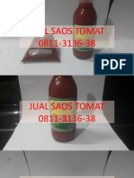 MURAH, WA 0811-3136-38,  Jual Saos Tomat Bahan Nasi Goreng Enak