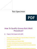 Note 5 Test Specimen