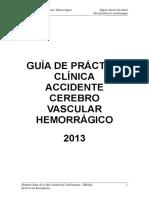 Gpcl-Accidente Cerebro Vascular Hermorragico