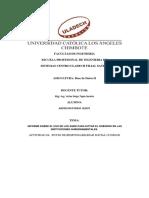 Informe Sobre El Uso de Los Sgbd Para Evitar El Soborno en Las Instituciones Gubernamentales.