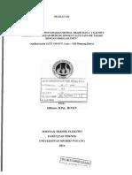 Studi Pengaruh Pentanahan Netral Trafo Daya 2 x 42 Mva