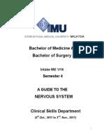 Nervous System OSCE