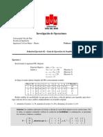 Solución 02 - Guia de Ejercicios 06 - Investigacion de Operaciones