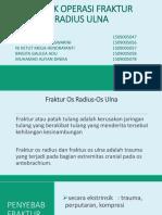 132_teknik Operasi Fraktur Radius Ulna
