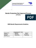 2009 Bendix Ppap Requirements Guidelines Rev 1-9-2009