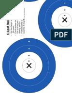 NFAA 5 Spot Target