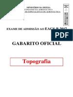 Aeronautica 2016 Eear Sargento Da Aeronautica Topografia Prova