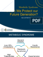 (1) Metabolic Syndrome, How Do We Protect Our Future Generation_ - Ayu Luh Ratri Wening, S.ked