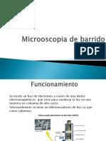 Microoscopia de Barrido
