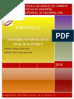 Portafolio II Unidad 2018