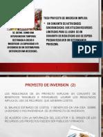 Proyectos de Inversion -De Desarrollo .Sociales Unac