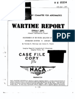 Supermarine Spitfire Wartime NACA Report