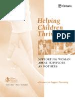 Helping Children Thrive
