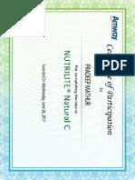 SumTotal Content Player-NUTRILITE® Natural C