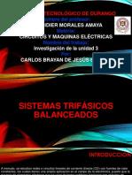 Sistemas Trifasicos Balanceados y No Balanceados