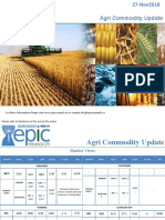 Daily Agri Report 27 Nov 2018 by Epic Research