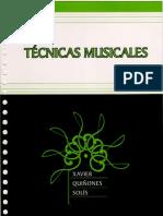 Tecnicas Musicales