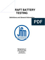Aircraft Battery Testing Definitions and Notes-2.1