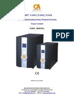 G-NET Tower Model User Manual