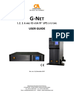 G-Net 1-10kVA 19'' User Manual