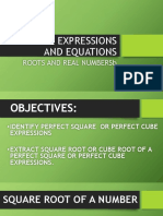 Radical Expressions and Equations