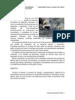"""Investigación_unidad Minera """"Mulatos"""" Sahuaripa, Son., México"""