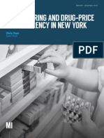 Cost-Sharing and Drug-Price Transparency in New York