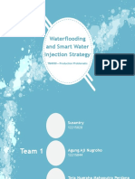 Group 1_Waterflooding and Smart Water Injection Strategy