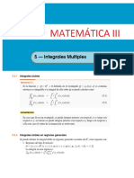 Integral Doble y Triple