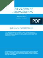 Clasificación de Turbomáquinas