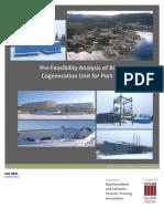 49680E Fesibility Report for COGEN
