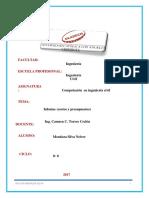 Informe-costos y Presupuestos