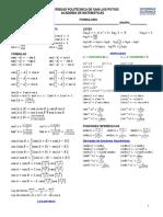 Formulario Mate II
