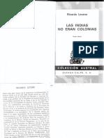 Las Indias no eran Colonias - Ricardo Levene.pdf