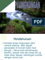 Terapi lingkungan