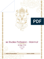 Profession - Manmohan 9 Nov 2018