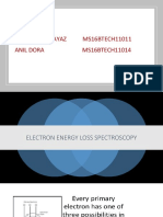 Electron Energy Loss Spectroscopy