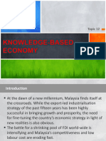 Topic 12 - K-based Economy