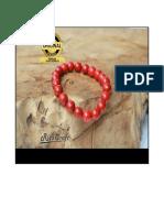 Gelang Batu Marjan Merah, 087-7-81894000