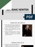 Sir. Issac Newton