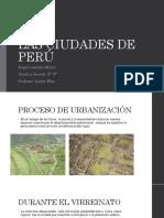 Las Ciudades de Perú