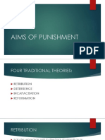 Aims of Punishment