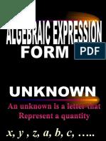 ALGEBRAIC EXPRESSIONS.ppt