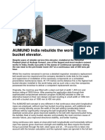 Aumund India Rebuilds the Worlds Hightest Bucket Elevator 6973726 76194919