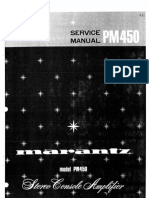 Marantz-PM450  Amplifier