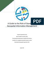 Standards Guide for UNGGIM - Final