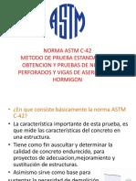 ASTM C-42