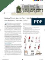 Design Thesis Manual