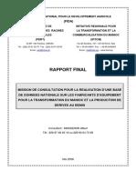 Report Base Benin01